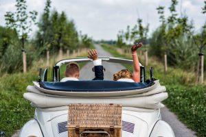 Just married, bruidsfotografie Hoeksche waard