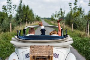 Just married, bruidsfotografie Hoeksche waard